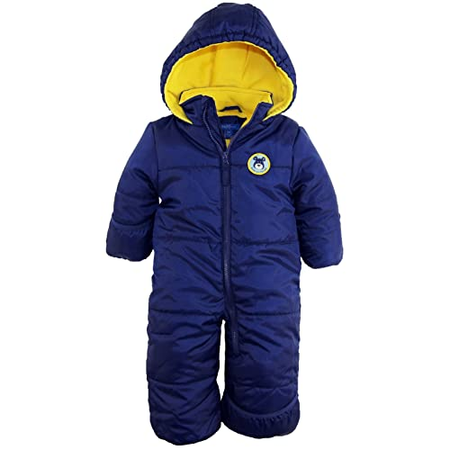 845415580 iXtreme Baby Boys Expedition Puffer Winter Snowsuit Pram Bunting