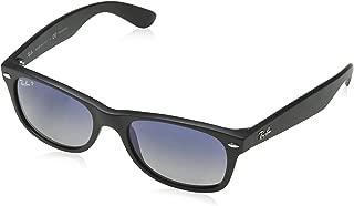 Ray-Ban RB2132 New Wayfarer Sunglasses,52 mm, Matte Black...