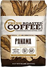 Panama Boquete Coffee, 5 Lb. Bag, Whole Bean Coffee, Fresh Roasted Coffee LLC.