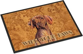 "Caroline's Treasures Vizsla Indoor or Outdoor Doormat, Multicolor, 24"" x 36"""