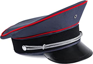 Captain Hat – Officer Hat, Peaked Hat, Military Cap – Dress Up Hats