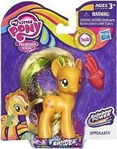 My Little Pony Rainbow Power Ponies Set of 6 - Rainbow Dash, Princess Twilight Sparkle, Rarity, Pinkie Pie, Apple Jack & Fluttershy