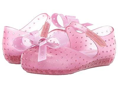 Mini Melissa Mini Furadinha XI (Toddler/Little Kid) (Pink Twinkle) Girls Shoes