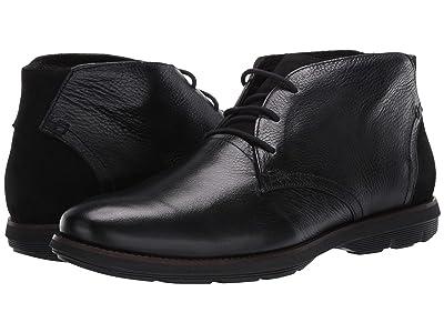 Massimo Matteo Chukka 3-Eye Boot (Black) Men