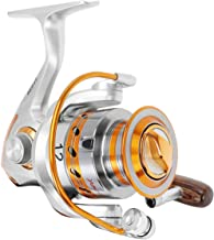 Lohastour Fishing Reels Spinning - 12 Ball Bearings for Freshwater Saltwater Light Weight High Speed