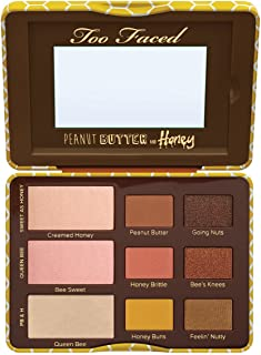 Too Faced Peanut Butter and Honey Eyeshadow Palette Collection 0.39 OZ