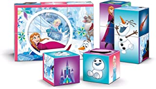 Clementoni Disney Frozen Multi Play Cubes Puzzle - 4 Years and above