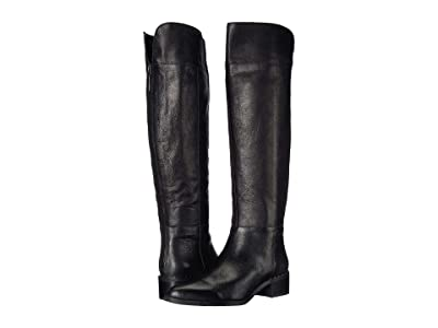 Franco Sarto Daya (Black Leather) Women