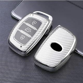 Keyless llaves del coche funda azul para Hyundai Genesis Santa Fe funda protectora