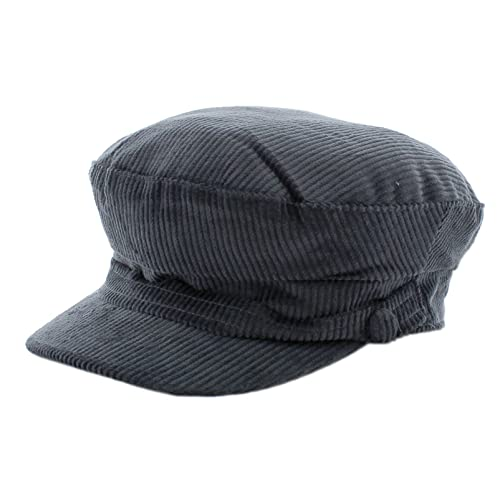 The Hat Company Lennon Cord Mariner Breton Cap fe0e123db671