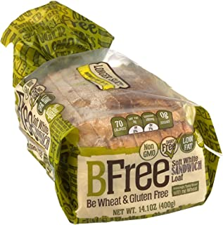 BFree Gluten Free Sandwich Bread, Soft White, 14.11 Ounce (Pack of 3)