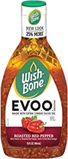 Wish-Bone E.V.O.O. Salad Dressing, Roasted Red Pepper, 15 Ounce
