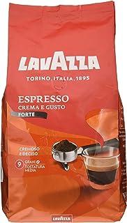 Lavazza, Caffè in Grani Crema e Gusto Forte - 6 Confezioni da 1 Kg [6 Kg]