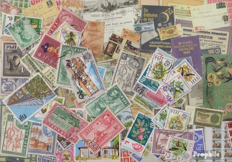 salida para la venta Prophila Collection Fiji-Islas 200 Diferentes Sellos Sellos Sellos (Sellos para los coleccionistas)  costo real