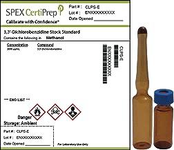 SPEX CertiPrep CLPS-E 3, 3'-Dichlorobenzidine Stock Standard, Methanol Matrix, EPA 625, EPA 8310 Method Reference, 1 mL