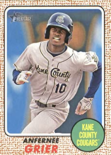 2017 Topps Heritage Minor League #71 Anfernee Grier NM-MT