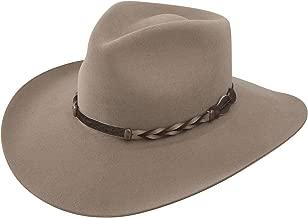Stetson Men's 4X Drifter Buffalo Felt Pinch Front Cowboy Hat - Dftr-163420 Stone