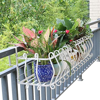balcon suspendu support de jardin