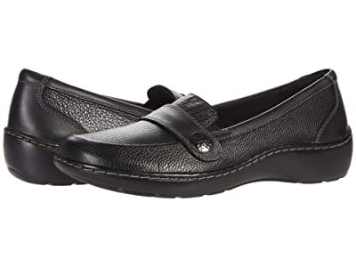 Clarks Cora Daisy (Black Tumbled Leather) Women