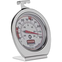 Rubbermaid Instant Read Refrigerator/Freezer/Cooler Monitoring Thermometer