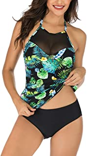 c5089385ad Amazon.com: Halter - Tankinis / Swimsuits & Cover Ups: Clothing ...