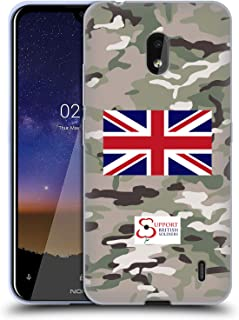 Official Support British Soldiers Multi Terrain Camo Soft Gel Case Compatible for Nokia 2.2