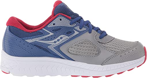 Blue/Grey/Red Leather/Mesh