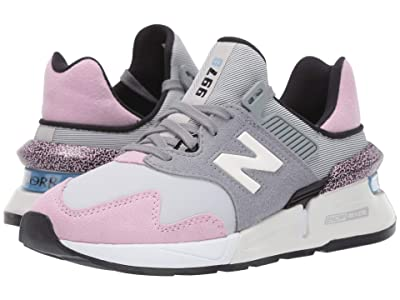 New Balance Classics 997 Sport (Steel/Crystal Pink Suede/Nylon) Women