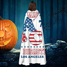 Master of Disaster Apollo Creed 76 Rocky Unisex Christmas Halloween Witch Knight Hooded Robe Vampires Cape Cloak Cosplay Costume Black