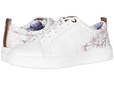 Cougar Bloom Waterproof (White/Blossom Napoli Leather) Women