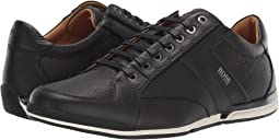 Saturn Low Profile Leather Sneaker by BOSS