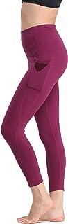 KAIDER Yoga Pants Leggings Capris High-Waist Tummy Control for Women