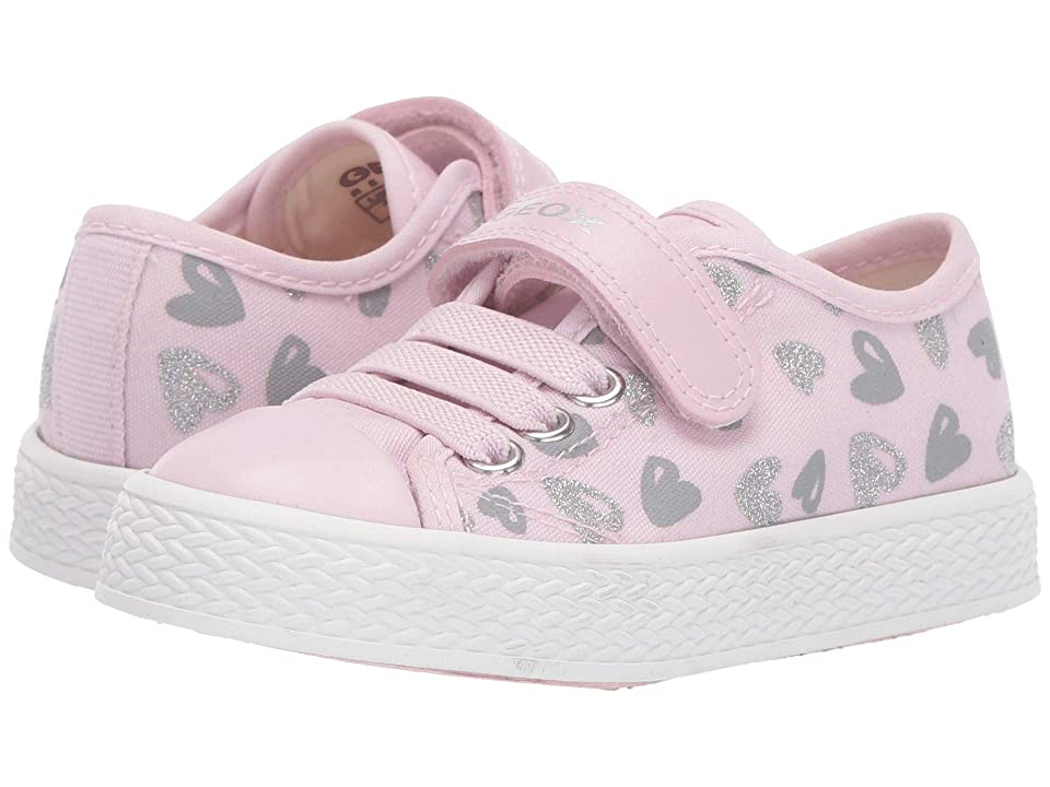 Geox Kids Ciak Girl 64 (Toddler) (Pink) Girl