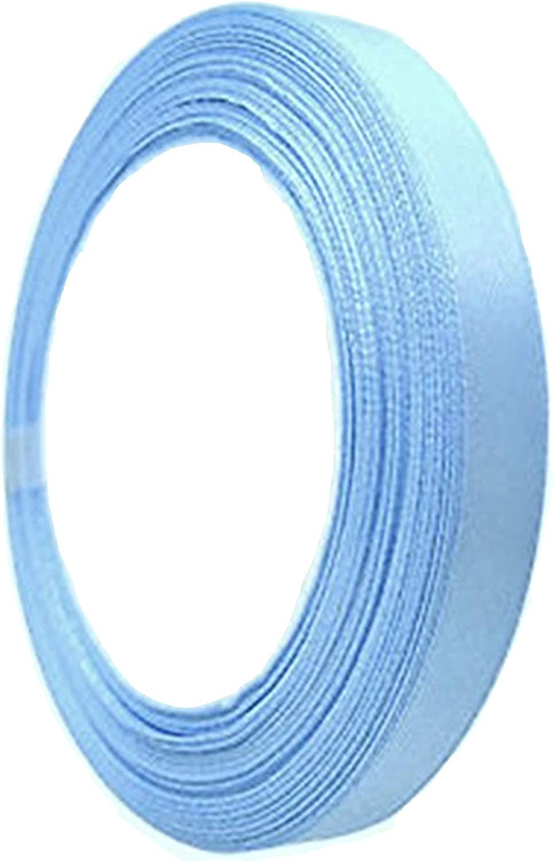 GCS Ruban en satin 25/m/ètres de longueur la d/écoration de mariage et les projets cr/éatifs Nombreuses couleurs disponibles. blanc 15/mm de large Pouvant servir pour les cadeaux 15 mm