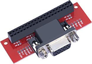 VGA 666 Adapter Board For Raspberry Pi 3B / 2B / B+ / A+. Neat and Very Useful Solution For Using a VGA Screen/monitor With Your Raspberry Pi and is Far Cheaper Than an HDMI to VGA Adapter or Similar.