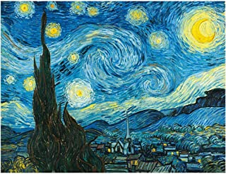 Jigsaw Puzzle 1000 Pieces ,Large Puzzle Family Creative Game Toys ,Starry Night by Vincent Van Gogh