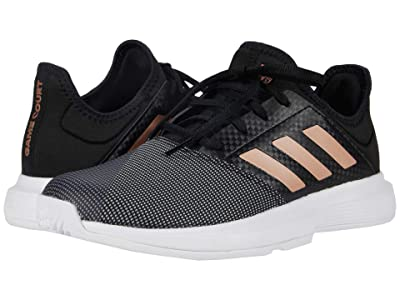 adidas GameCourt (Core Black/Copper Metallic/Footwear White) Women