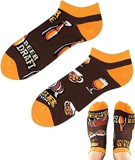 TODO COLOURS - Calcetines para zapatillas de cerveza, diseño de casa de cerveza