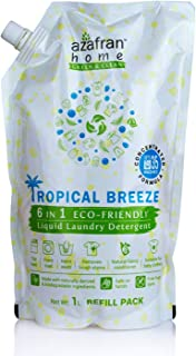 Tropical Breeze 6 in 1 Eco-Friendly Liquid Laundry Detergent Refill Pack