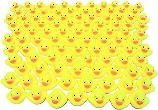 あひるちゃん 102個 おまけ付き セット ウキウキ お風呂 (102個セット 動物のおまけ2個付き)