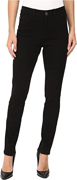Olivia Slim Leg/Love Denim in Black