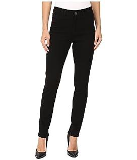 Olivia Slim Leg/Love Denim in Black