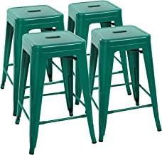 Amazon Co Uk Metal Bar Stools 24 Inches