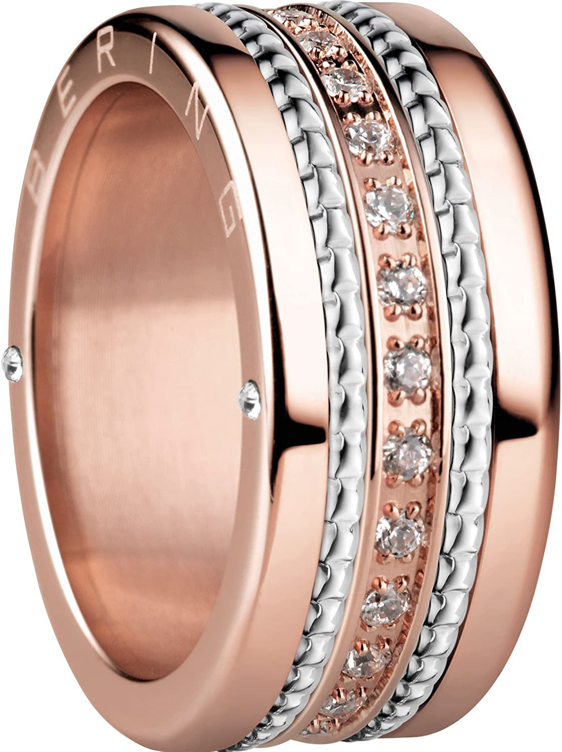 BERING Women's Ring Combination -Melbourne. Interchangeable Mix & Match Rings from The Arctic Symphony Collection. Designed in Denmark.