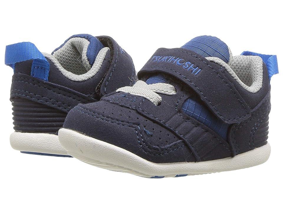 Tsukihoshi Kids Racer (Infant/Toddler) (Navy/Blue) Boys Shoes