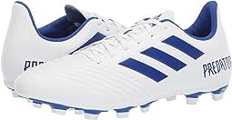 Footwear White/Bold Blue/Bold Blue