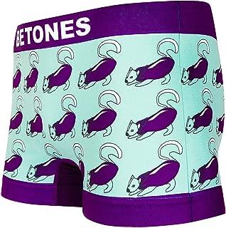 BETONES (ビトーンズ) メンズ ボクサーパンツ NASUKANKU dwearsステッカー入り ローライズ アンダーウェア 無地 ブランド 男性 下着 誕生日 プレゼント