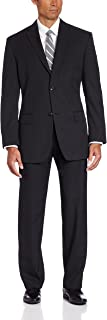 Men's Big & Tall Striped Two-Button Suit-Separate Jacket