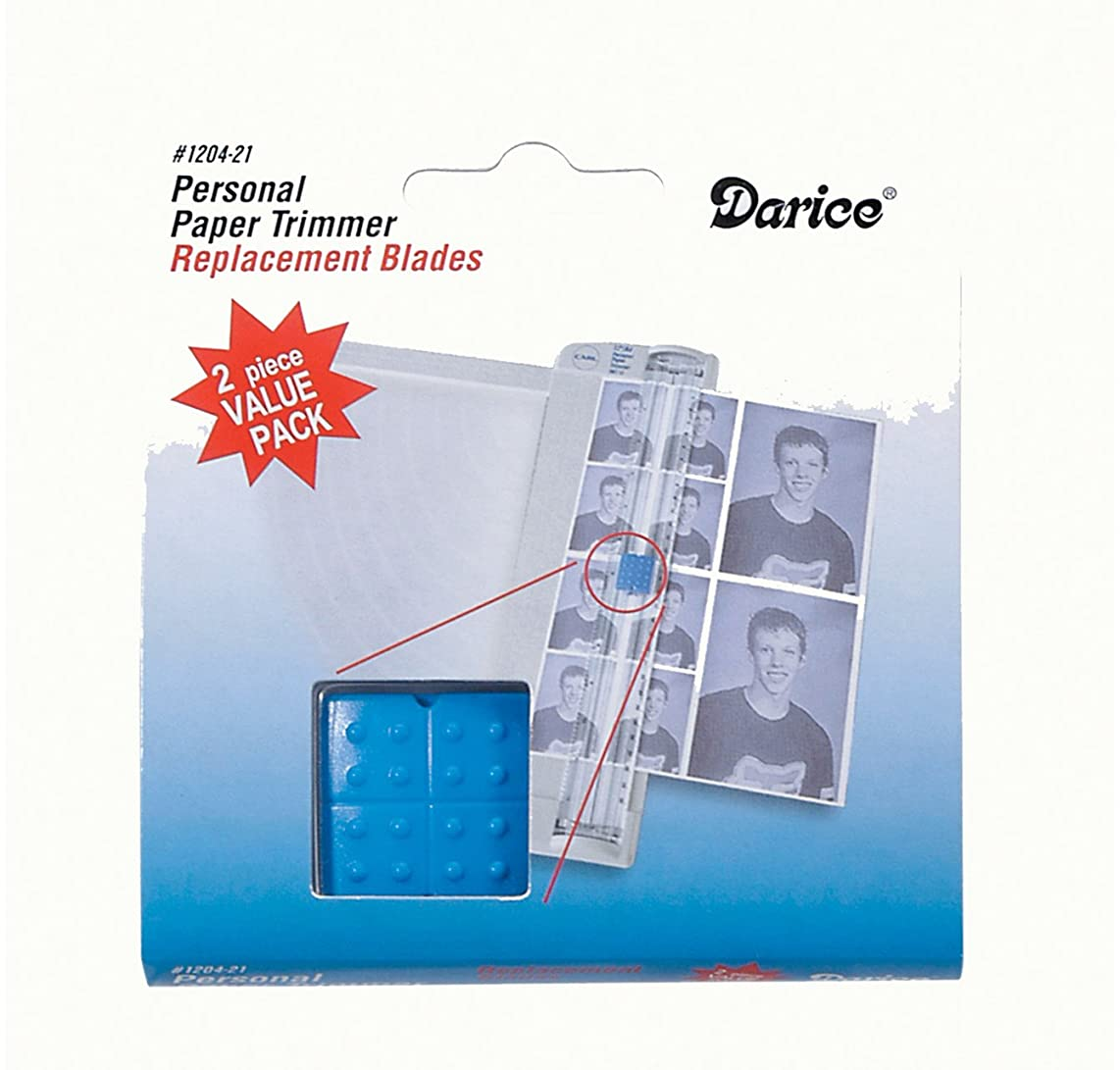 Darice Trimmer Replacement BLADES - Twin Pack