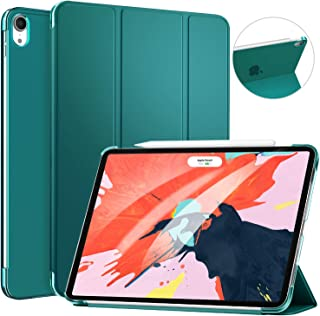 Ztotop for 2018 iPad Pro 11 Inch - Lightweight Translucent Back Cover Support iPad Pencil Charging for iPad 11 2018, Dark Green